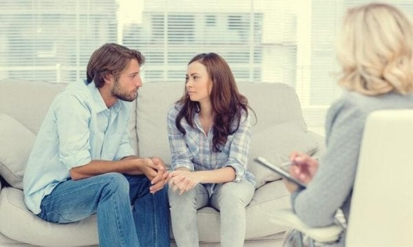 couple in therapy over secure attachment