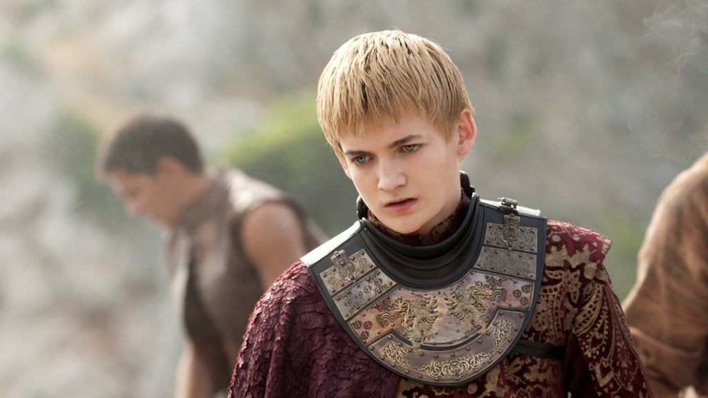 joffrey baratheon, example of narcissism