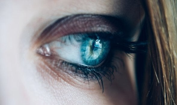 Stop worrying by looking yourself in the eye.