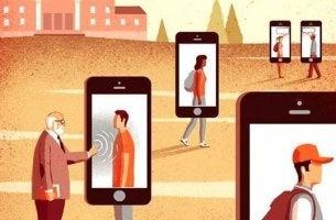 People as walking mobiles