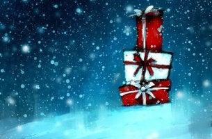 christmas presents kaleidoscope