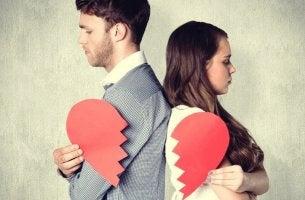 broken couple