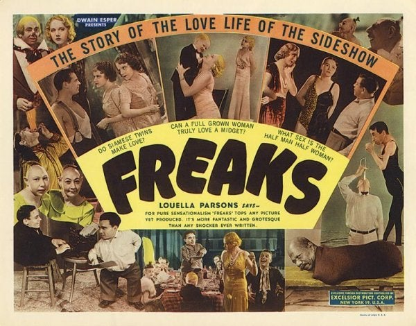 Freaks film.