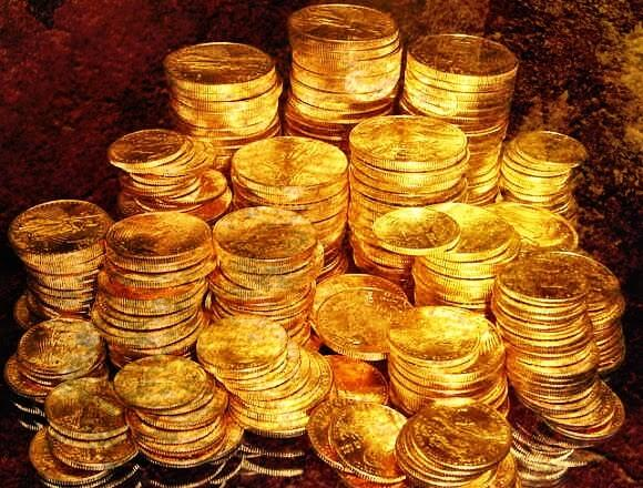The circle of 99 involves pure gold coins.