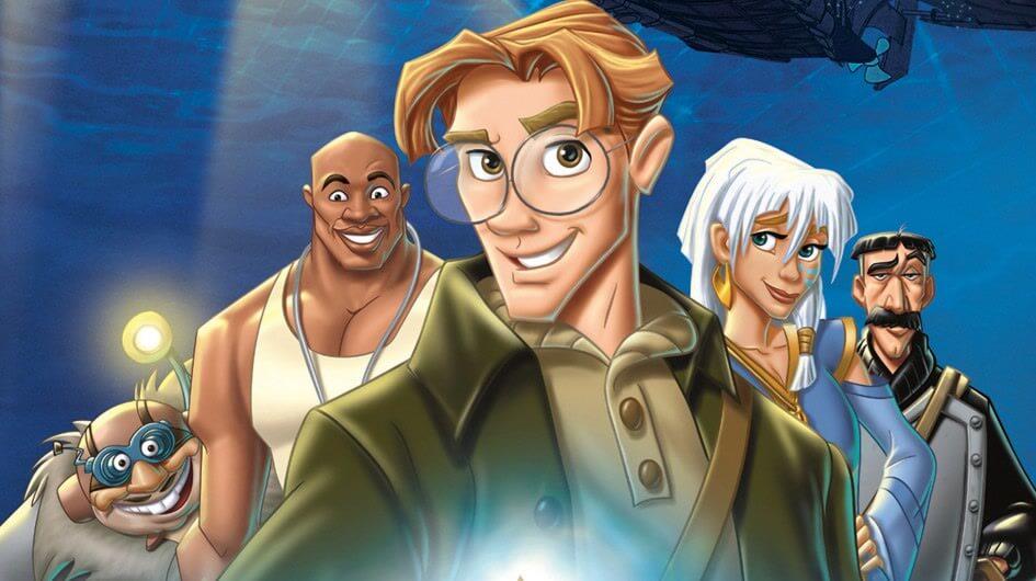 Atlantis characters.