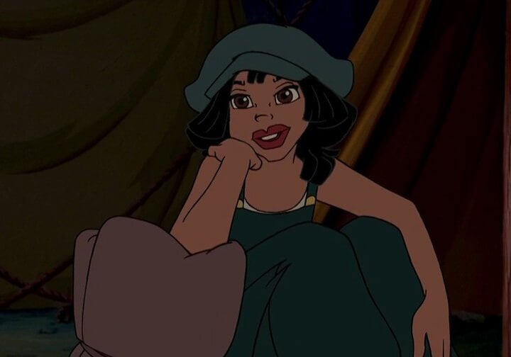 Atlantis and the role of women in Disney films.