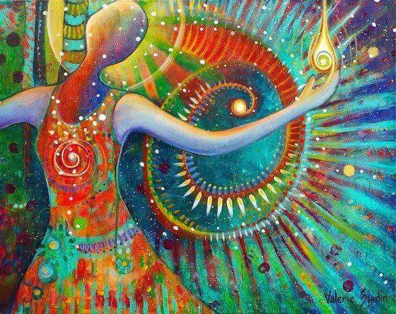 colorful-figure-with-swirl-behind-it