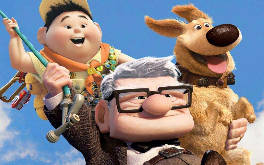 Pixar film Up, how to achieve our life goals