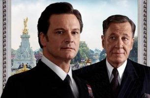 main characters in The King's Speech