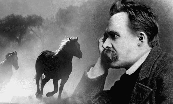 Nietzsche kunde identifiera sig med hästens lidande