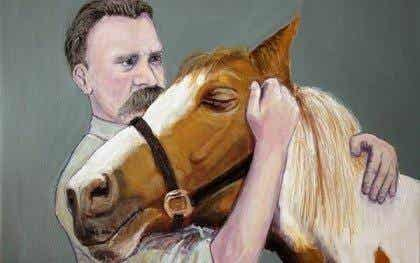 Why did Nietzsche embrace a horse and cry?