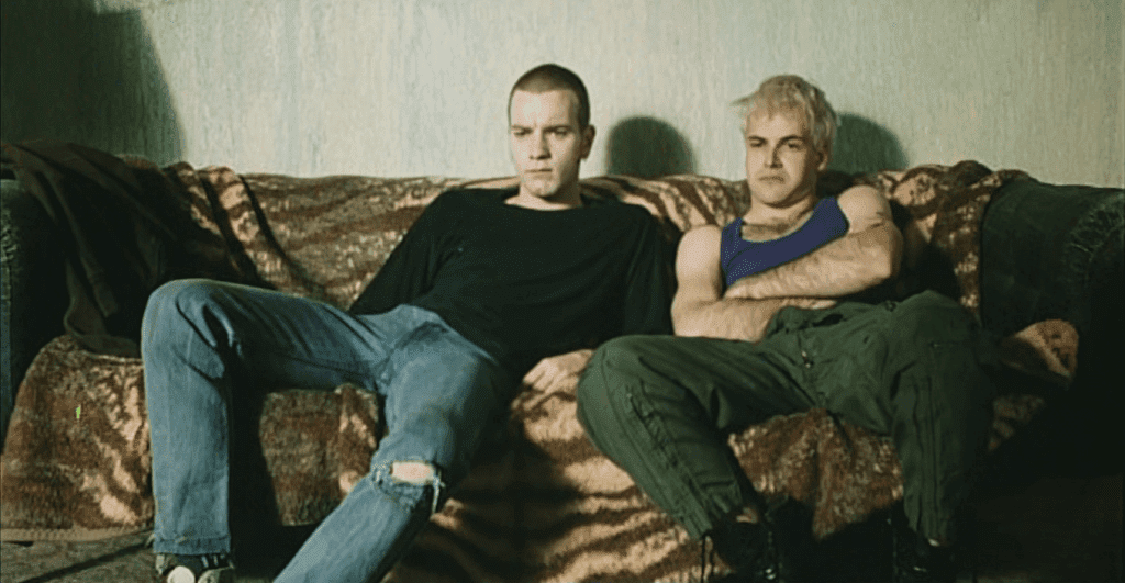 Scene from Trainspotting