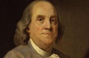 Benjamin Franklin portrait.