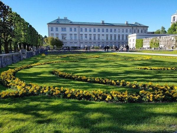 Austrian castle.