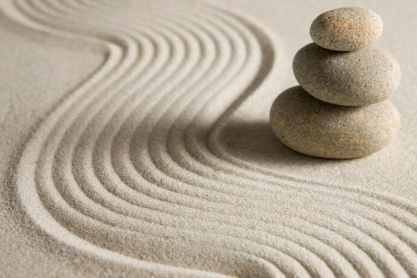 Peaceful sand