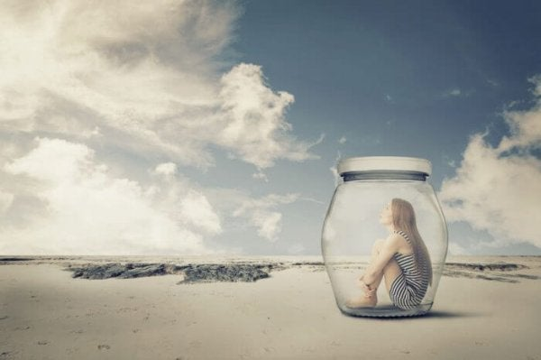 Teen in a jar.