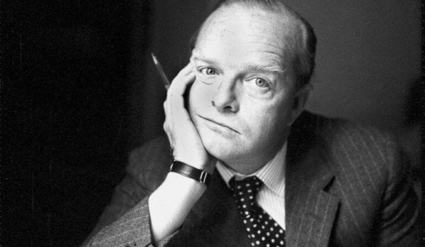 Truman Capote is one of the great American writers.