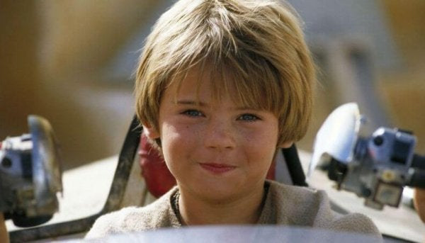 Young Anakin Skywalker.