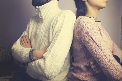 Face your marriage problems and not simply turn your backs against each other.