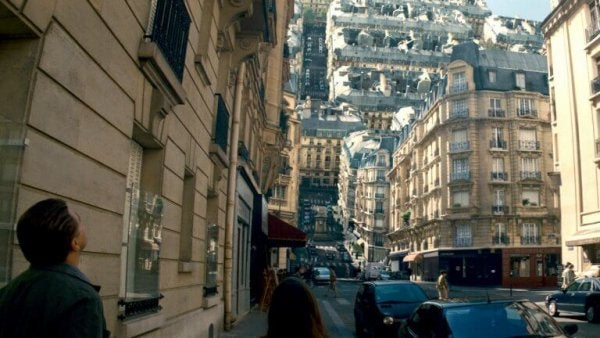 dream city in the movie inception