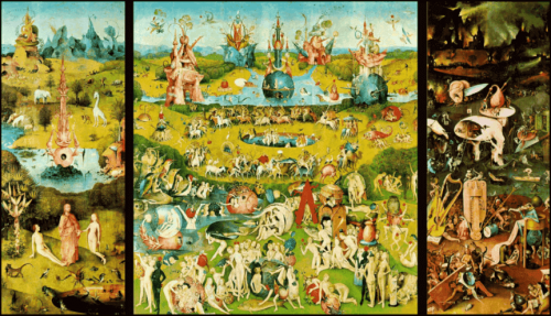 Pleasure garden of earthly delights.