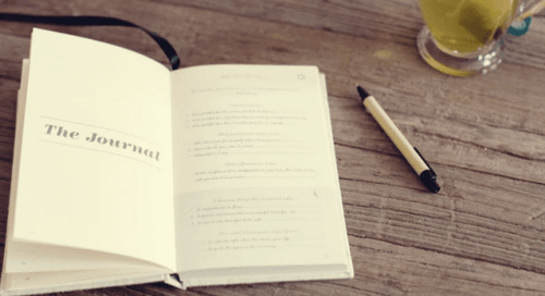 The five-minute journal.