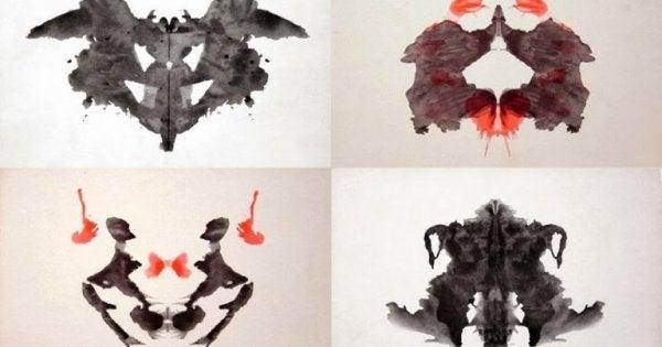Rorschach test example.