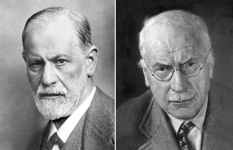 Freud and Jung.