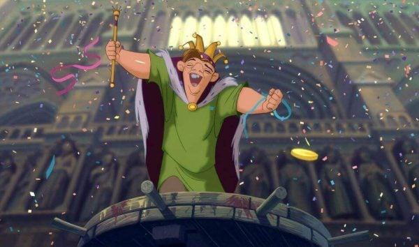 The Hunchback of Notre Dame advocates for justice and equality for all.