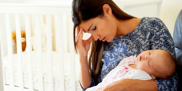 Motherhood can be stressful.