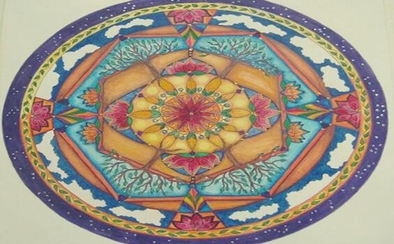 The Mandala is a symbol of harmony.