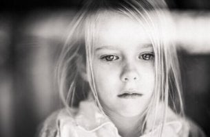 A girl with pediatric chronic pain.