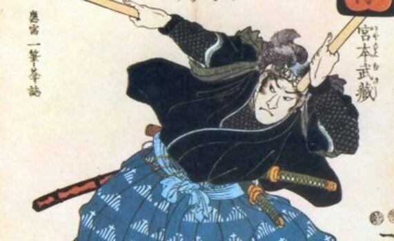 A samurai painting.