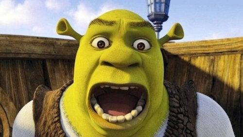 Shrek the ogre.