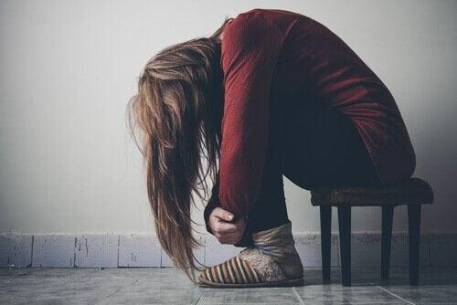 A sad addict.