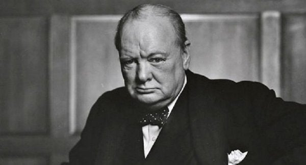 Winston Churchill had a sense of humor.