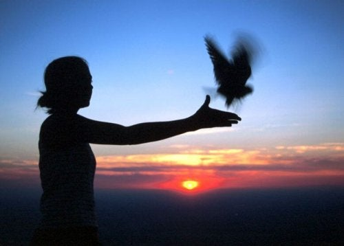 We may need to let unrealistic hopes and expectations go like letting go of a bird.