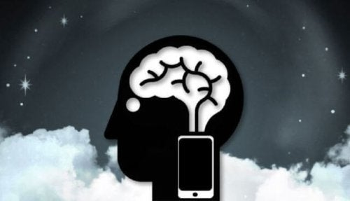 Cell phone affecting the brain.