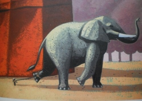 The Beautiful Story of the Chained Elephant