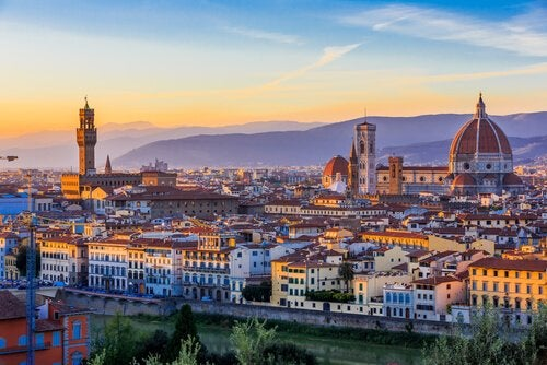 The city of Florence.