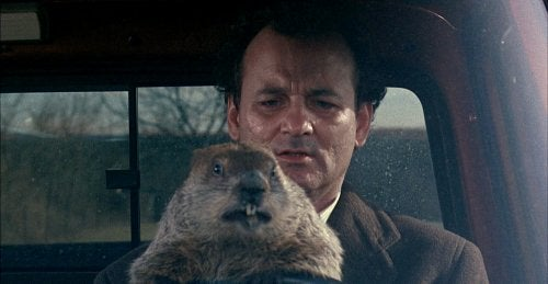 Phil Connors from Groundhog Day.