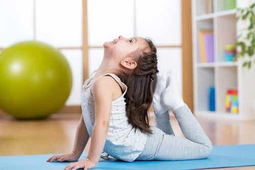 5 Yoga Poses for Children
