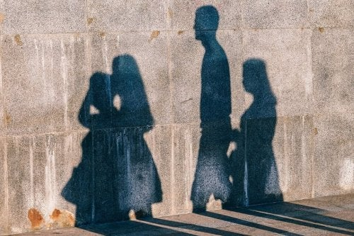 Shadows of people reducing prejudice.