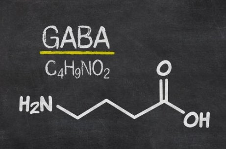 GABA chemical formula.