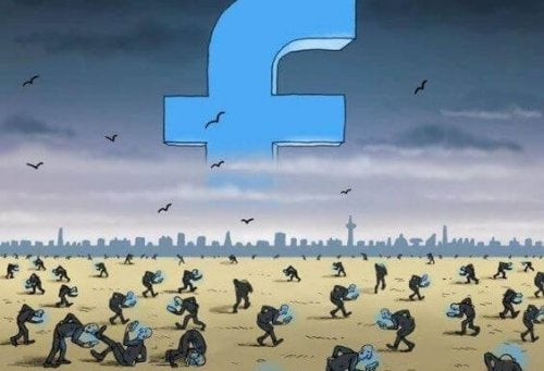 Facebook slaves.