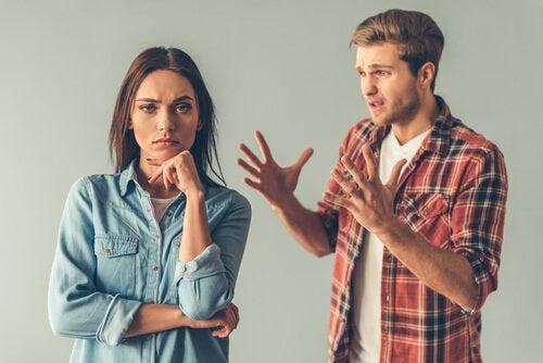 Bittersweet people arguing.