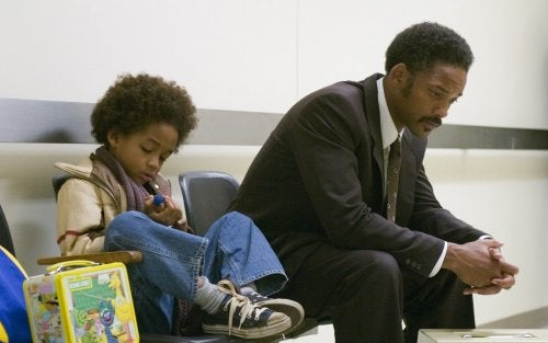 The pursuit of Happyness.
