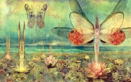 Butterfly women.