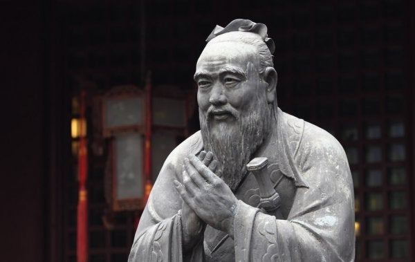 Confucius.