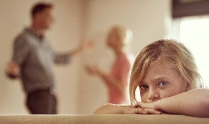 Hyperactive children can come from broken homes.